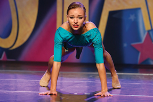 Lydia King featured in Dance Spirit Magazine